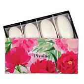 Набір мила Піон (Set of 4 soaps Pivoine) Fragonard 4*50 g