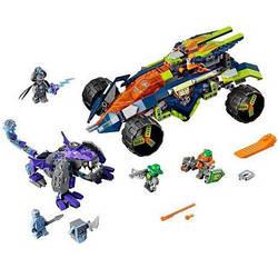 "Конструктор BELA Nexo Knights  ""Вездеход Аарона"" - арт. 10704 (аналог Lego Nexo Knights 70355)"