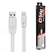 Кабель Remax Full Speed for iPhone Lightning white 1 метр