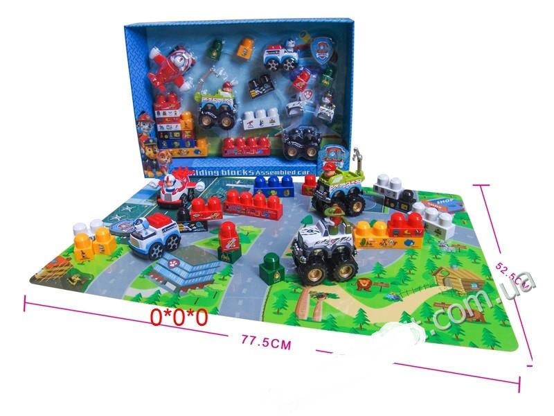 Игровой набор Щенячий Патруль с тремя героями