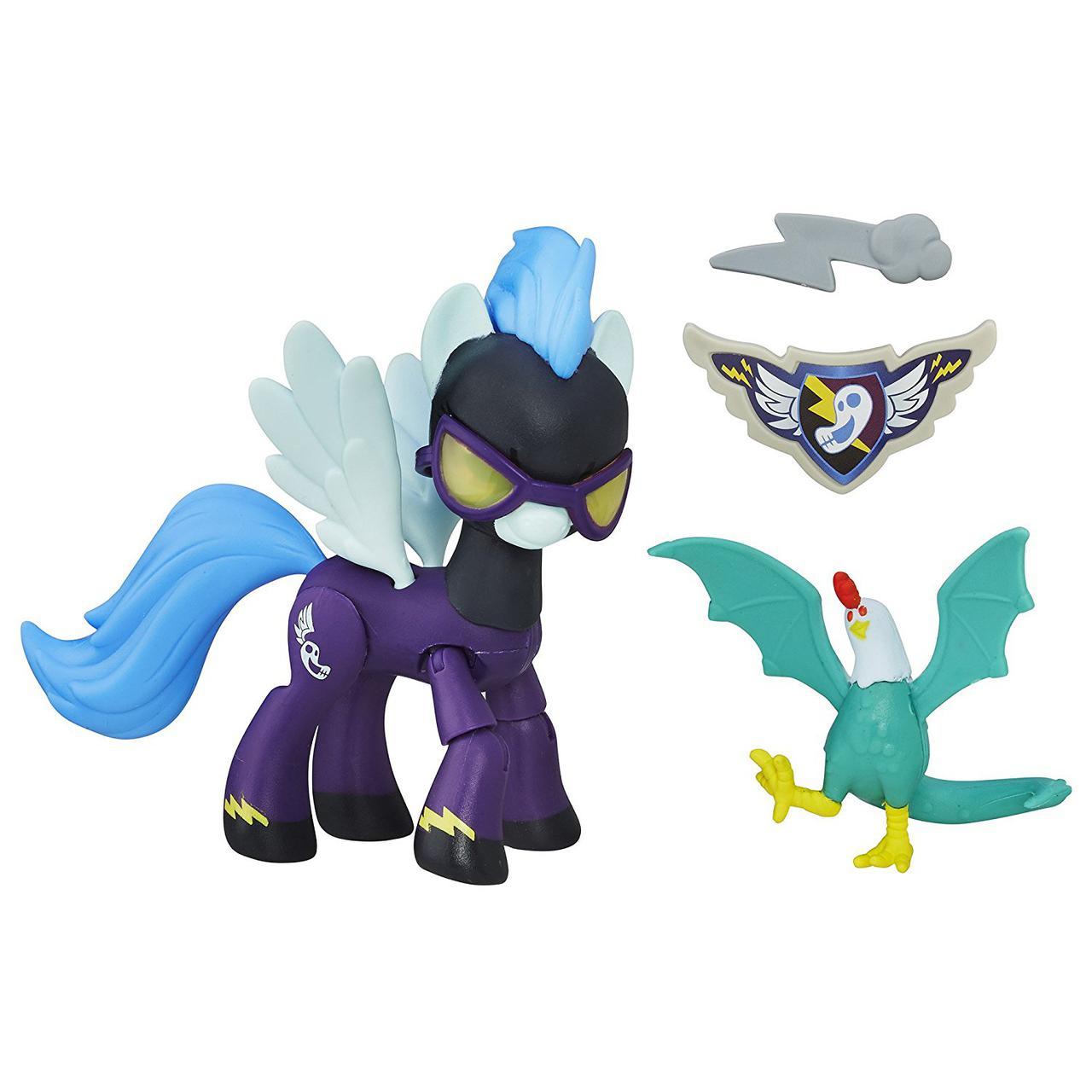 My Little Pony Фигурка пони Стражи гармонии шедовболтс Guardians of Harmony Shadowbolts Pony and Cockatrice