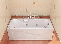 Гидромассажная ванна с врезным смесителем Triton Джулия, 1600х700х560 мм