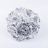 Простынь детская Asik на круговой резинке с серыми зверятами (5К-400)