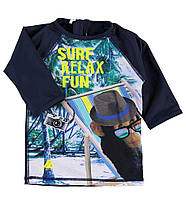 Футболка для плавания с защитой от ультрафиолета UPF 50+ для мальчика 9-12 мес. р. 80 ТМ Name it Sun protection 13128631