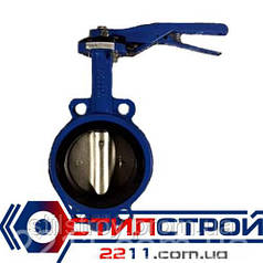 Затвор Баттерфляй Ду 65 хром диск Vitech