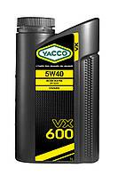 Моторное масло YACCO VX 600 5W40(1L)