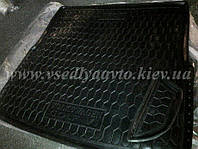 Коврик в багажник на Volkswagen Golf 6 универсал (Avto-gumm) пластик+резина
