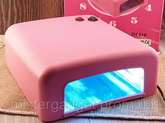 Лампа ZH 818 УФ Для фиксации всех типов гелей к ногтевой пластине