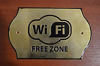 Таблички Wi-Fi зона