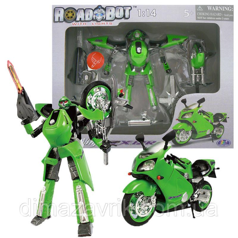 "Робот-трансформер 52100 Roadbot 1:14 ""Kawasaki"""