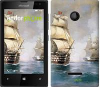 """Чехол на Microsoft Lumia 435 Айвазовский. Корабли """"160u-673"""""""