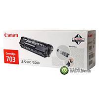Картридж Canon лазерный, 703 для Canon LBP2900/LBP3000 HP 1010/ 1012/ 1015/ 1020/ 1022 оригинальный