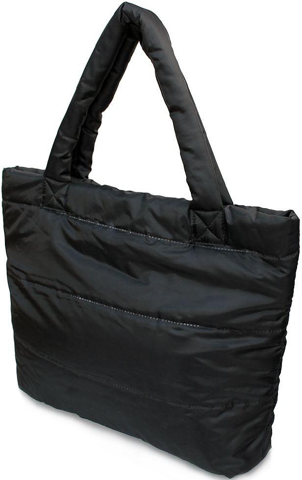 b45b660c360c Женская дутая стеганая сумка POOLPARTY pp4 черная — только ...