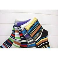 РАСПРОДАЖА! Носочки женские разноцветные, 5 шт.