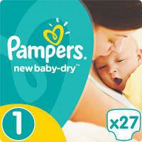 Подгузник Pampers New Baby Newborn (2-5 кг), 27шт (4015400264453)