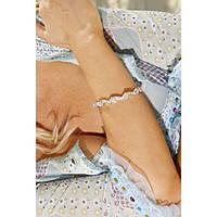 Волнистый браслет на запястье