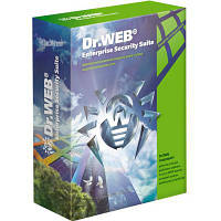 Антивирус Dr. Web Desktop Security Suite + Компл защ/ ЦУ 17 ПК 2 года эл. лиц (LBW-BC-24M-17-A3)