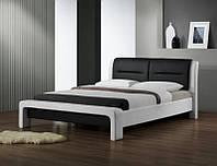 Кровать CASSANDRA 160*200 (бело-черный) (Halmar)