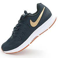 Мужские кроссовки для бега Найк зум Nike Zoom Pegasus 33 серые - Реплика р.(41, 42, 43)