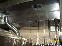 Зонт вытяжной вентиляции пристенный 1000/1000/400 мм, фото 3