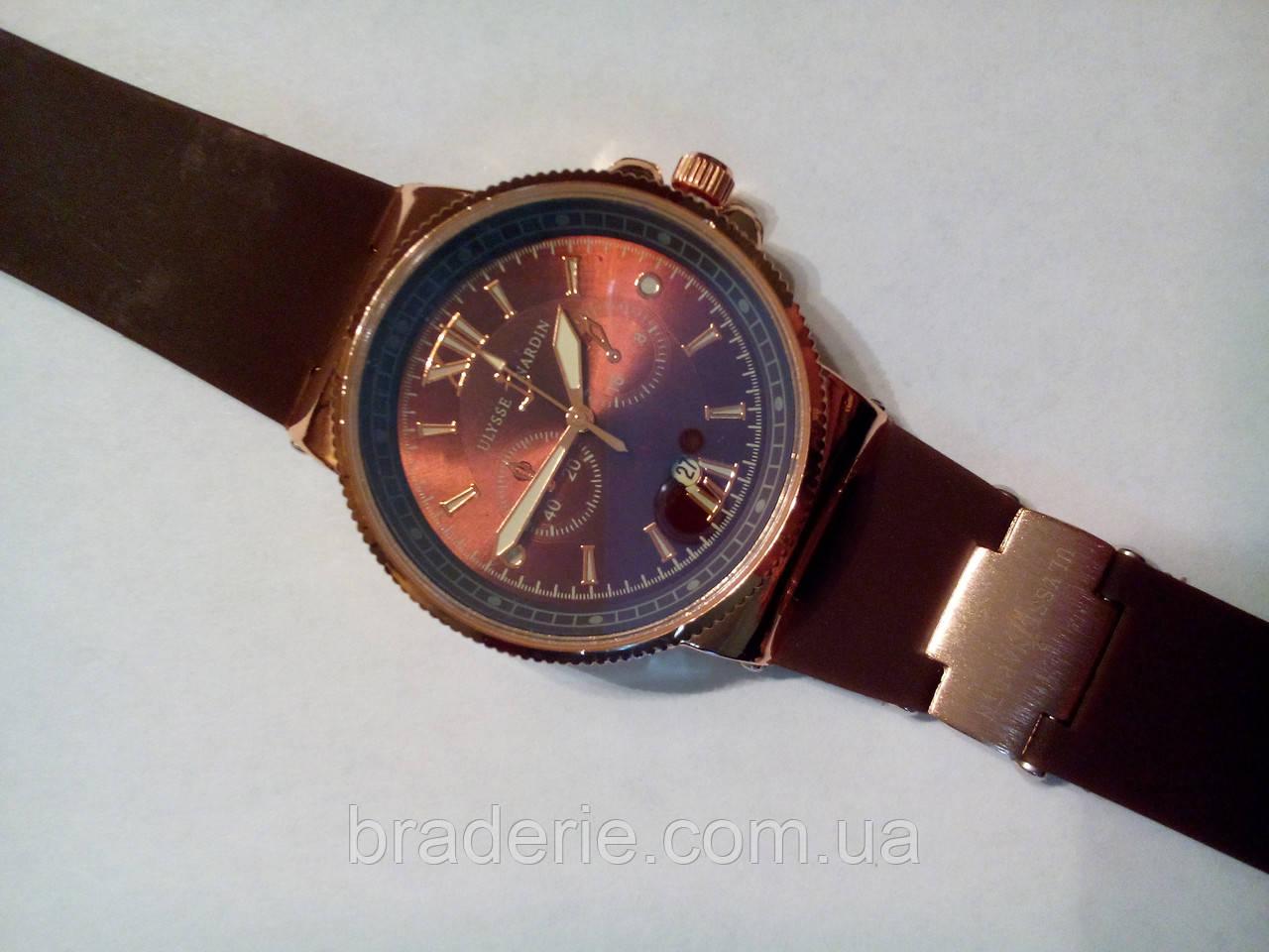 Часы наручные Ulysse Nardin 6600B Brown