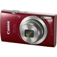 Цифровой фотоаппарат Canon IXUS 185 Red (1809C008AA)