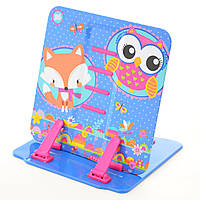 """Подставка для книг цветная металлическая 1 YES  """"Charming animals"""" 470423"""