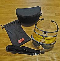 Очки 3М 13204-99999M Максим Баллистик комплект со сменными линзами и чехлом