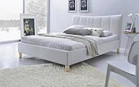 Кровать SANDY (белый) (Halmar)