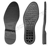 Подошва для обуви Клайд-2 (Klaid-2), цв. черный + серый, фото 1