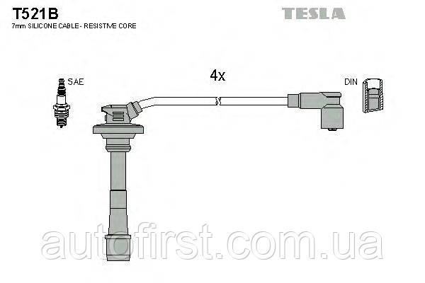 Высоковольтные провода Tesla T521B для автомобилей Toyota