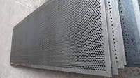 Решета дробилки ДДМ 500х1574 Толщина -3мм Ячейка - d=6мм