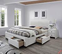 Кровать MODENA-2 (белый) (Halmar)