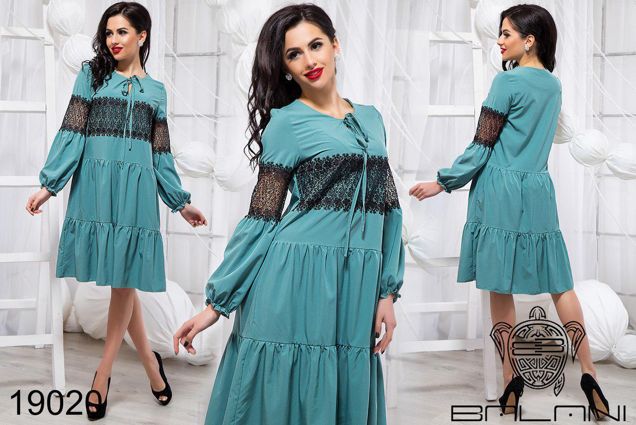Стильное платье-клеш до колен фабрика ТМ Balani (42,44,46)