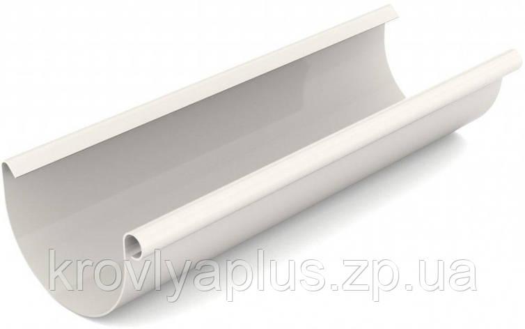 Водосточная система BRYZA 125 желоб белый, фото 2