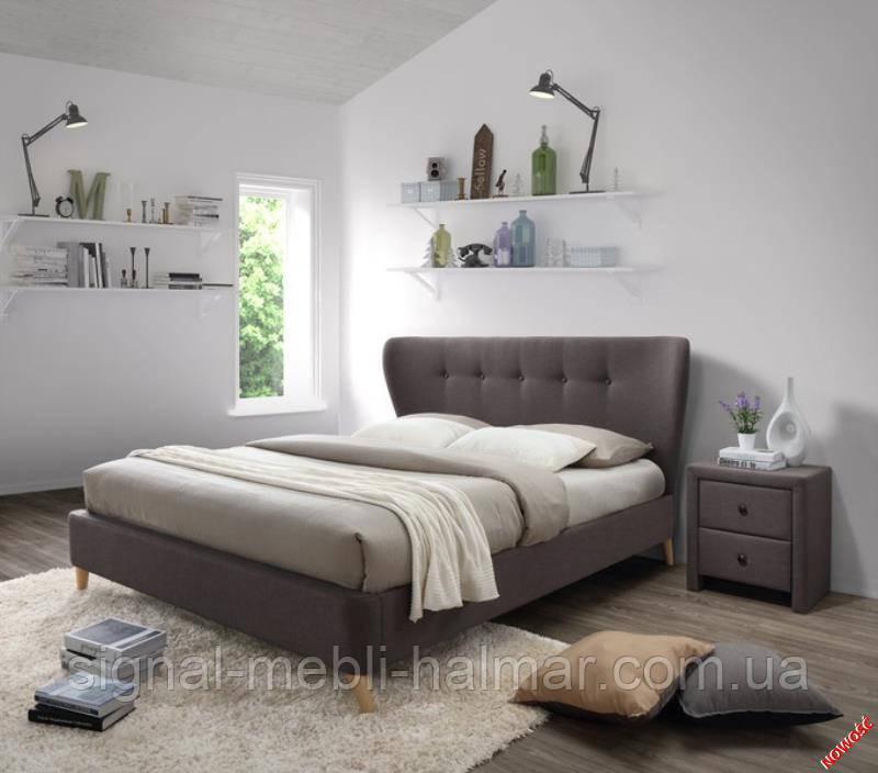 Кровать VIENA  (коричневый) (Halmar)