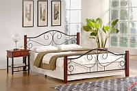 Кровать VIOLETTA 120*200 (вишня) (Halmar)