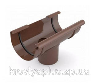 Водосточная система BRYZA 125 воронка коричневый