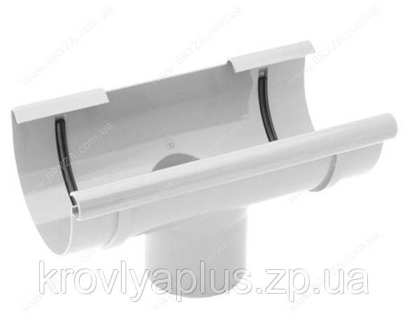Водосточная система BRYZA 125 воронка белый , фото 2