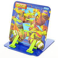 """Подставка для книг цветная металлическая 1 Вересня """"Ninja Turtles"""" 470435"""