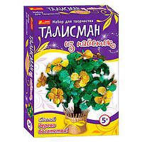 Набор для творчества -Талисман из пайеток Дерево богатства 4741