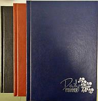 Ежедневник недатированный А5 160 листов, обложка баладек Ариан, синий/черный/коричневый, Мандарин