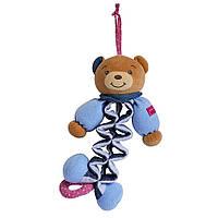 """Музыкальная игрушка-подвеска """"Мишка"""" Blue Denim, Kaloo"""