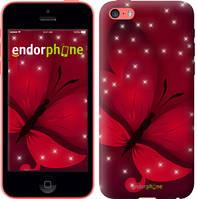 "Чехол на iPhone 5c Лунная бабочка ""1663u-23-8079"""