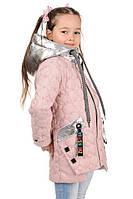Куртка весенняя для девочки Кубик