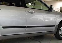 Молдинги дверей Profilex для Mitsubishi Outlander 2013