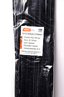 Хомут пластиковый 4,6*450 черный APRO, Турция (100)