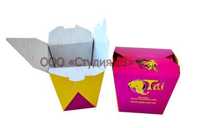 Упаковка для китайской еды, восточной кухни