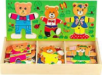 Пазл в коробке Три медведя (Д164)