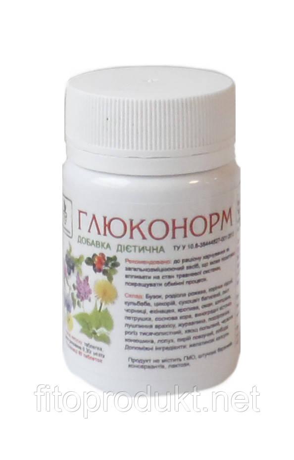 Глюконорм снижает уровень глюкозы в крови №60 Тибетская формула